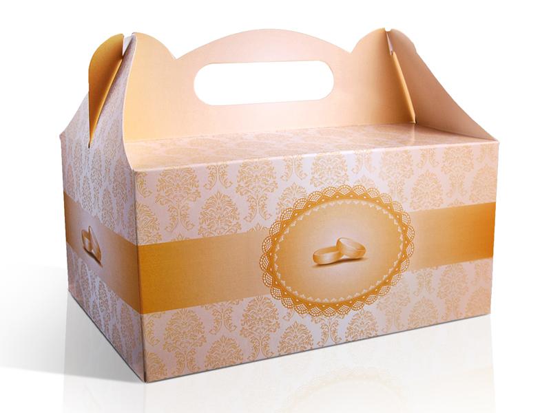 Krabičky na výslužky - s prstýnky