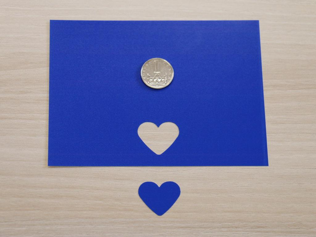 Ozdobná děrovačka 22 mm - srdce