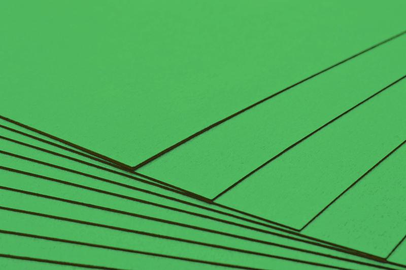 Podkladový papír A4 300g - zelený