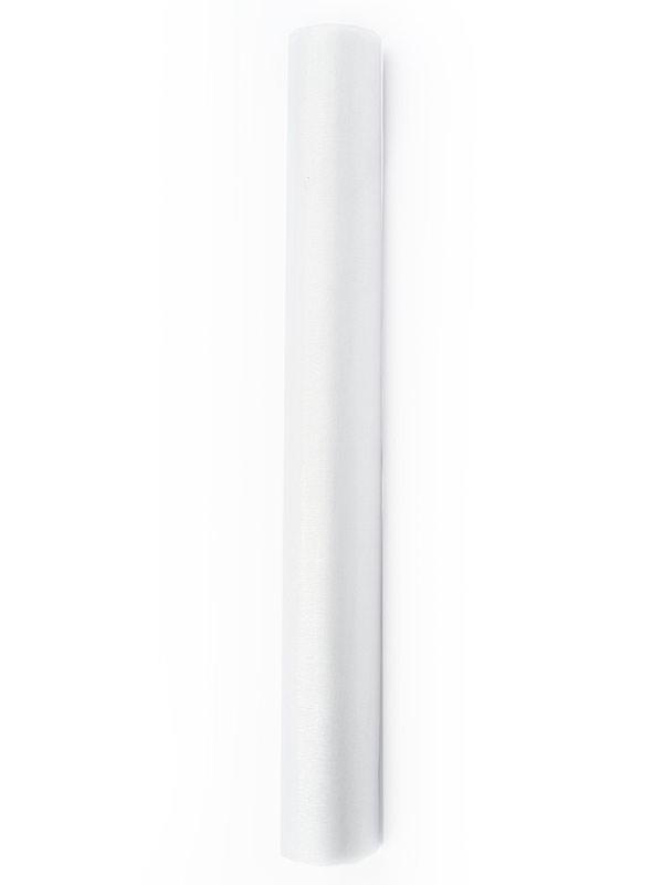Organza Superior - úzká bílá 16 cm x 9 m