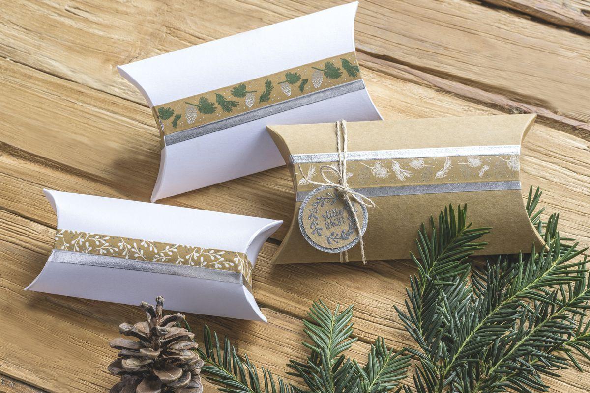 Ozdobné lepicí pásky - 5 zlatých papírových washi pásek