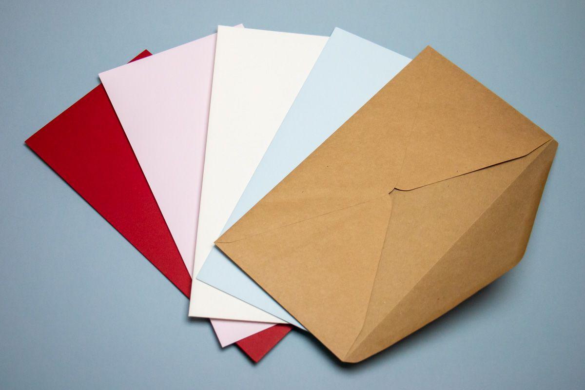 Obálky ke svatebnímu oznámení