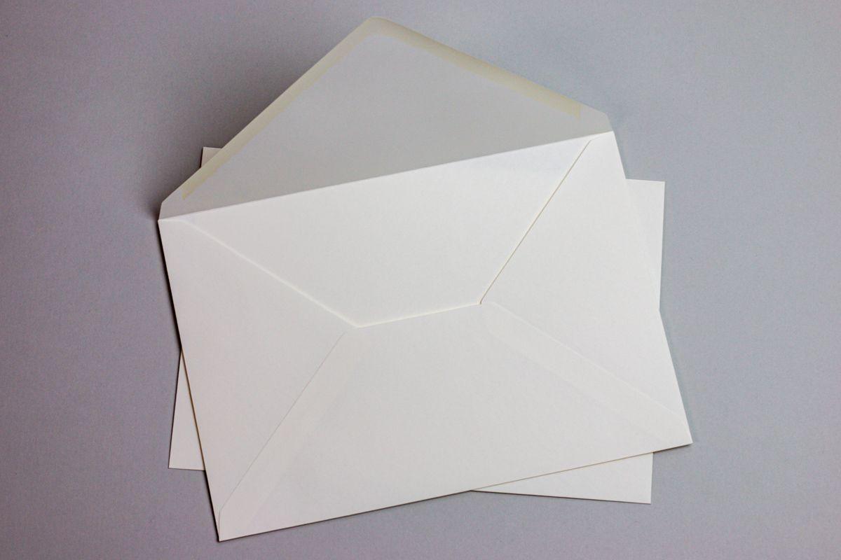 Silné obálky DL na svatební oznámení - tmavě červené