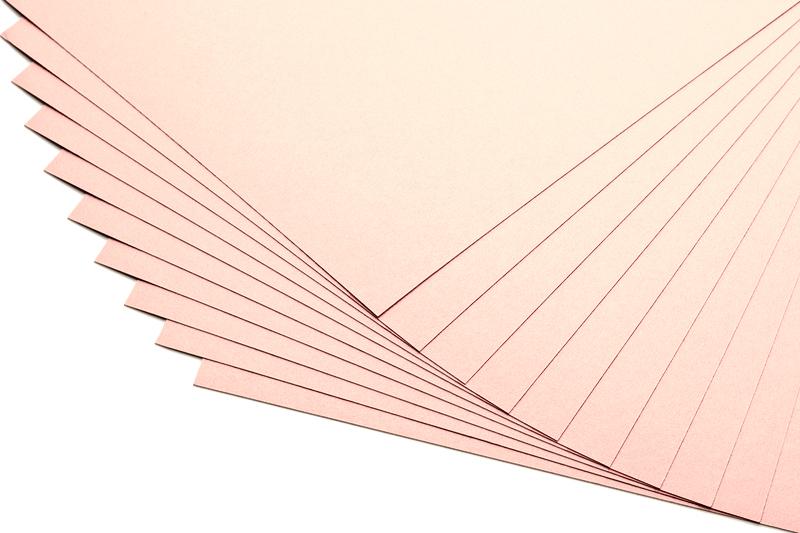 Barevné papíry v pleťové barvě - 20 listů A4 - 130g