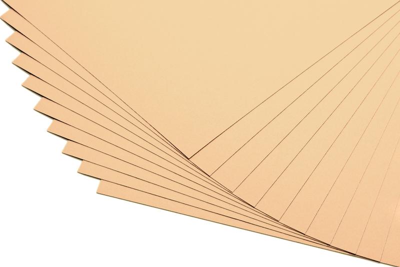 Barevné papíry béžové - 20 listů A4 - 130g