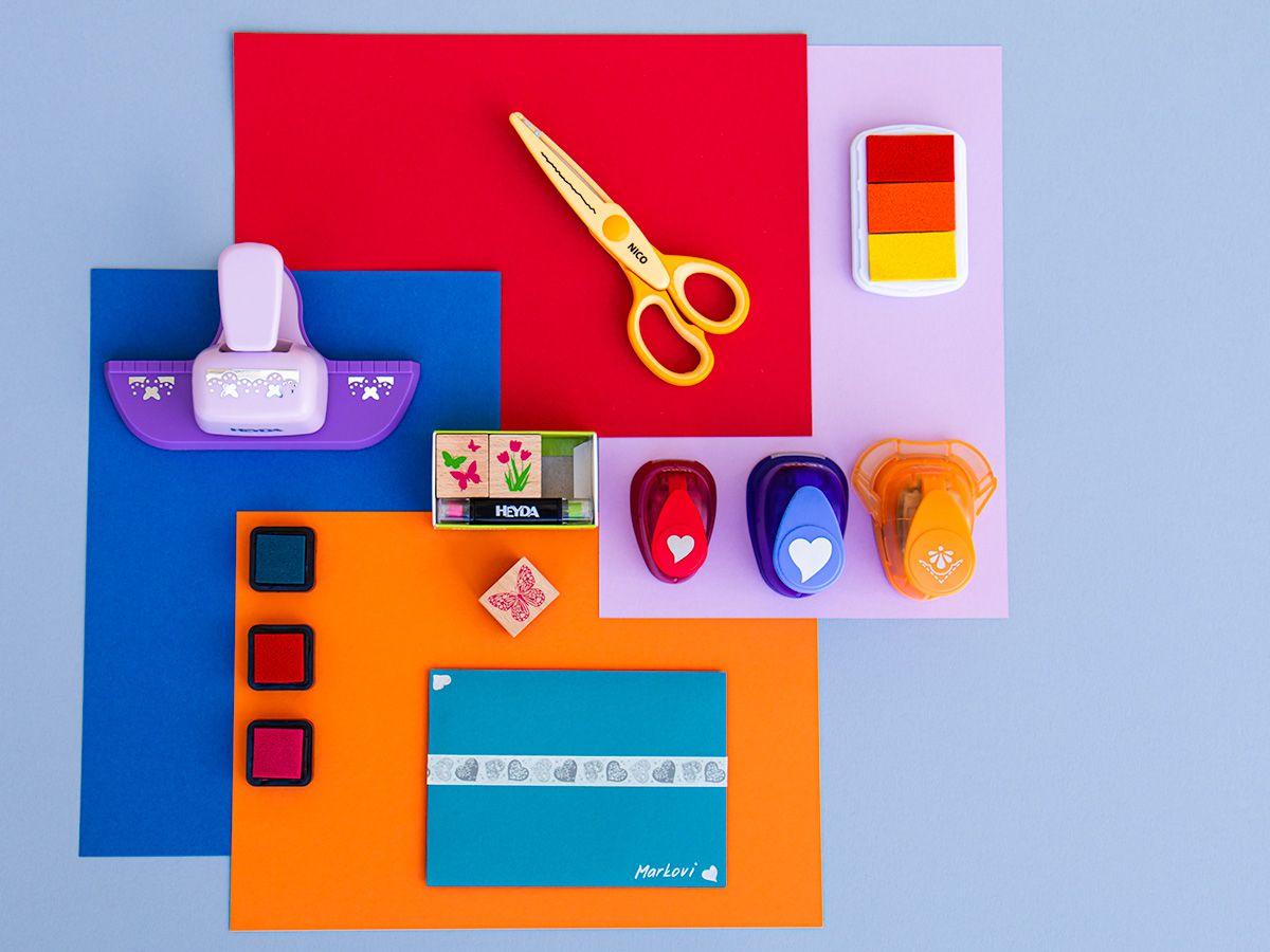 Barevné papíry tyrkysové - 20 listů A4 - 130g