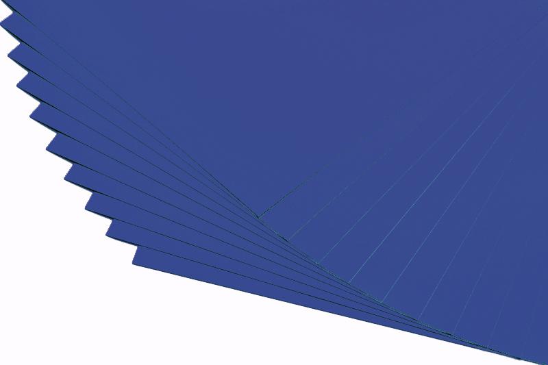 Barevné papíry královská modř - 20 listů A4 - 130g