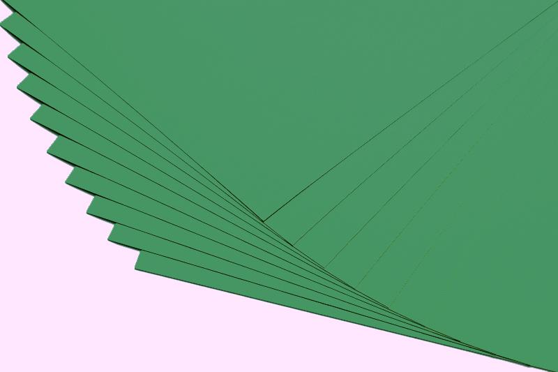 Papír A4 130g - zelená borovice - 20 listů