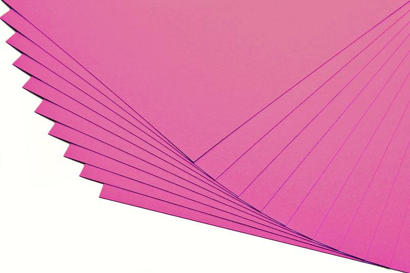 Barevné papíry ostružina - 20 listů A4 - 130g