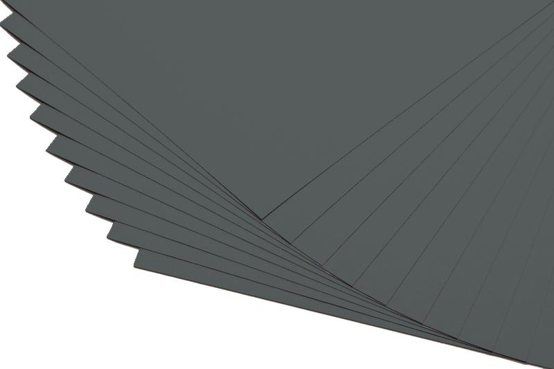 Barevné papíry šedé - 20 listů A4 - 130g