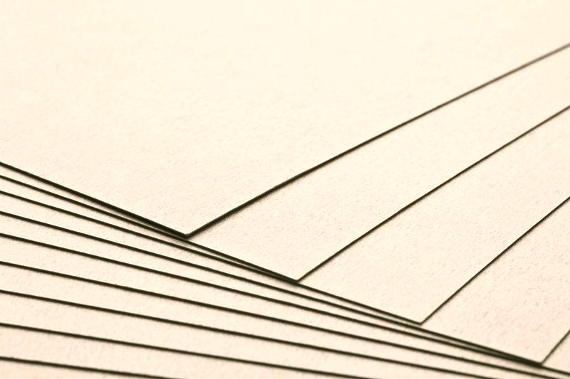 Tvrdý kreativní papír champagne A4 - 300g