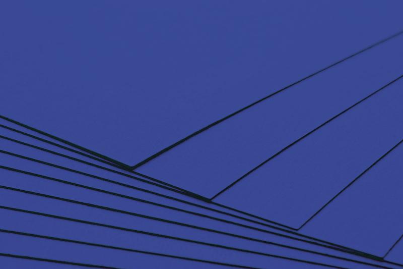 Tvrdý kreativní papír královsky modrý A4 - 300g