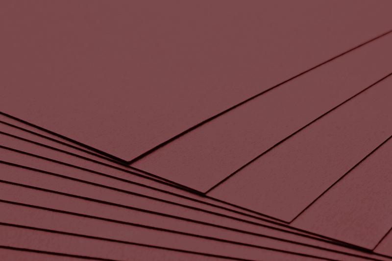 Tvrdý kreativní papír čokoládově hnědý A4 - 300g