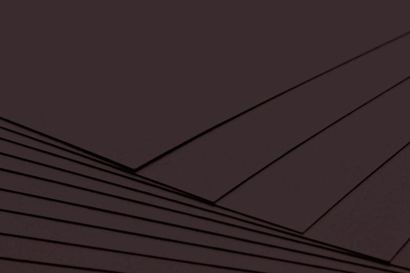 Tvrdý kreativní papír černý A4 - 300g