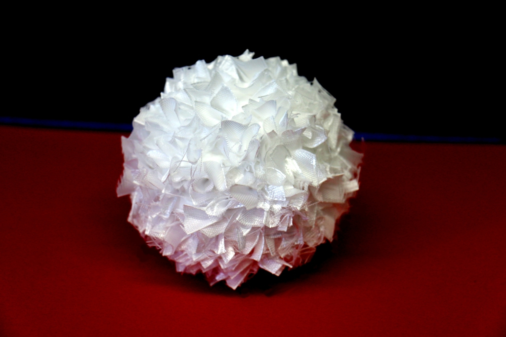 Očko do polystyrenové koule - 10 ks