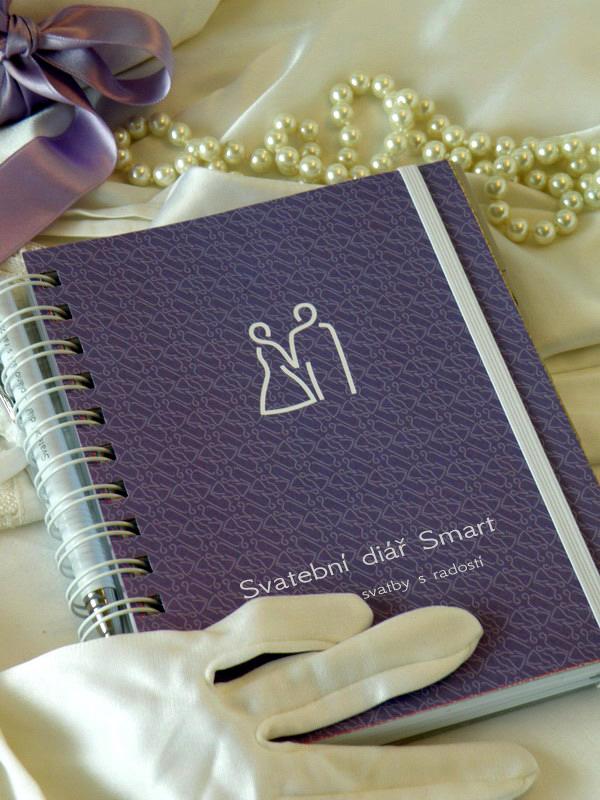 Svatební diář + propiska s věnováním