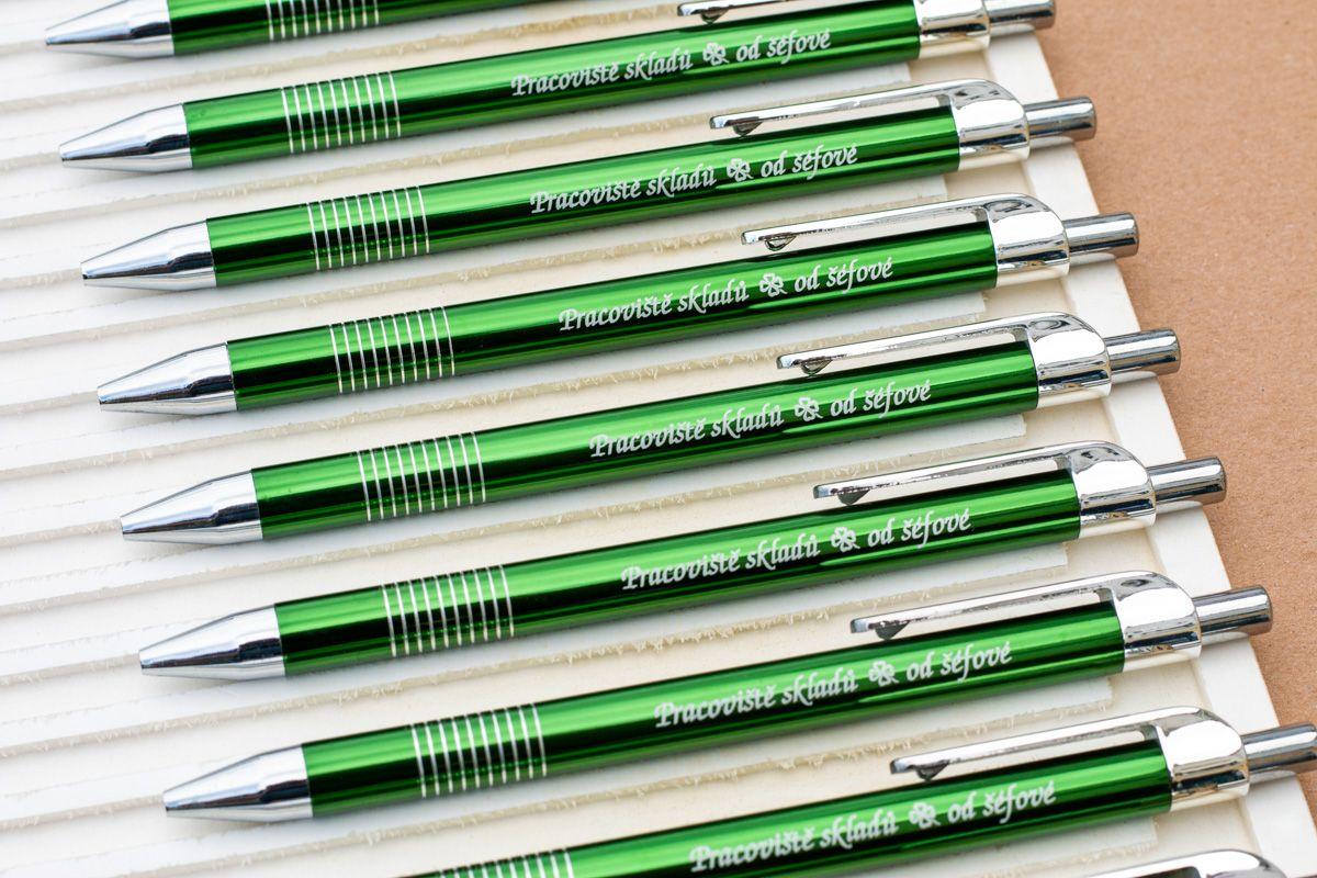 Propisky s vlastním textem - tmavě zelená