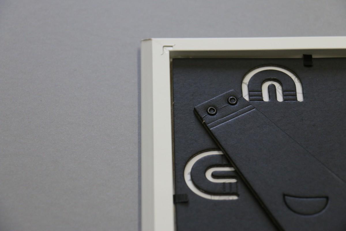 Bílý rámeček na fotku 13x18 cm s vlastním textem