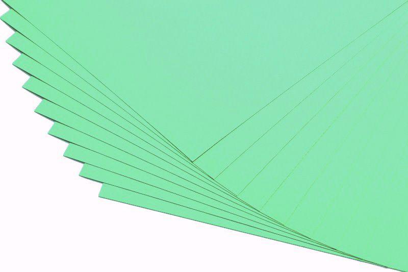 Barevné papíry mentolové - 20 listů A4 - 130g