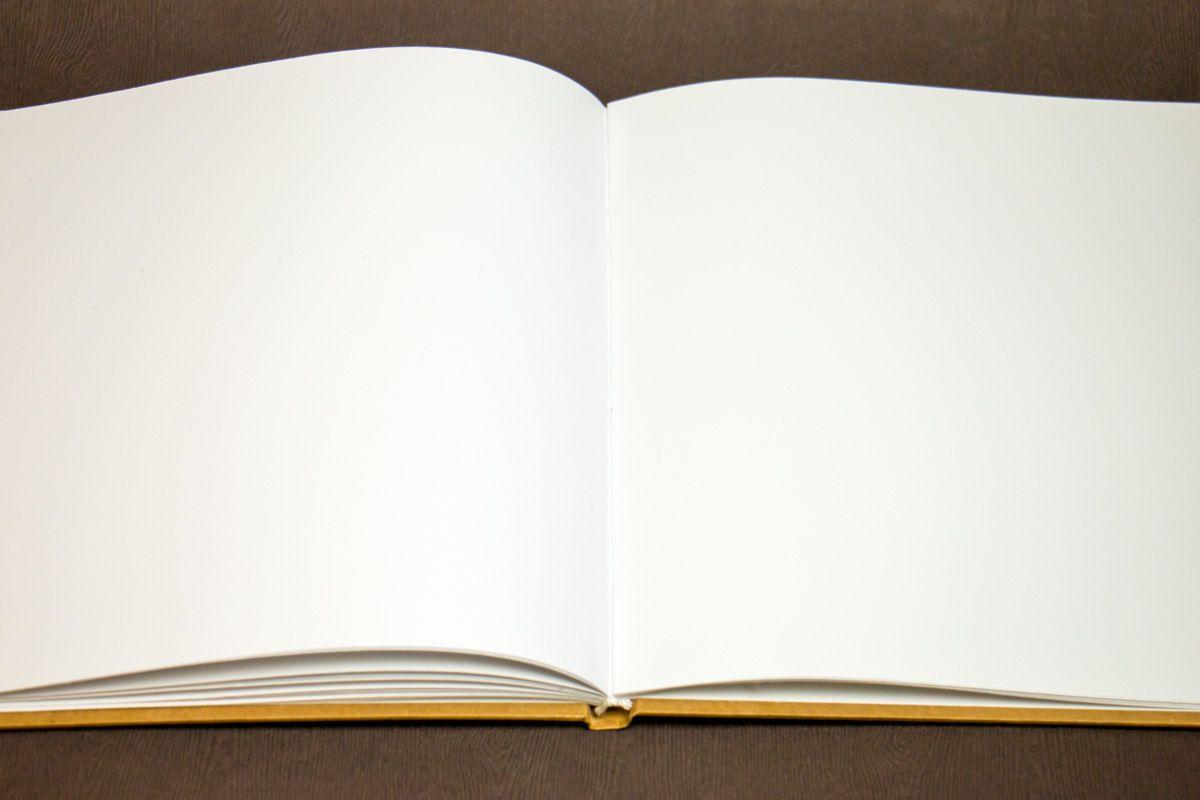 Svatební kniha hostů - vnitřní listy
