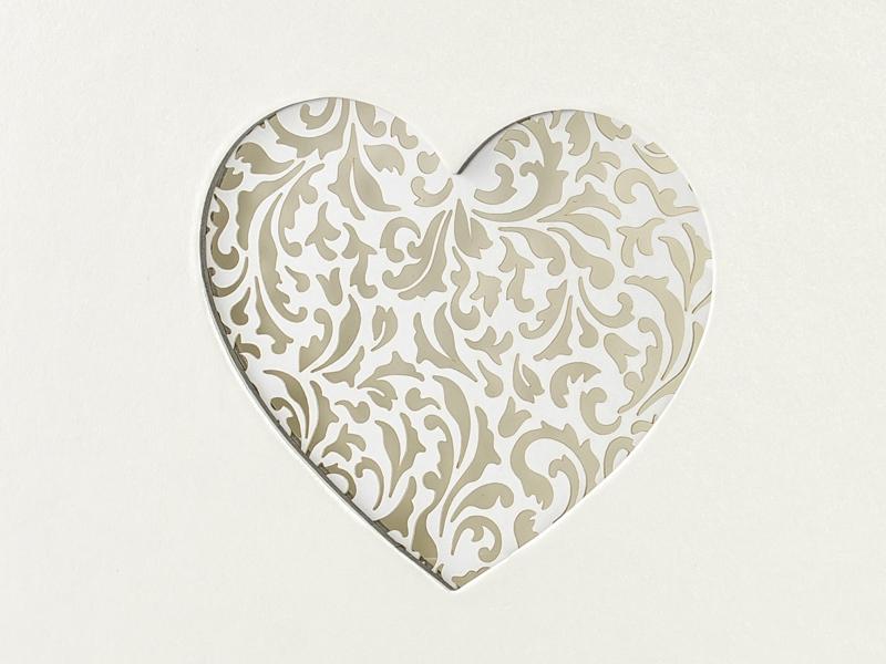 Velká svatební kniha hostů se srdcem