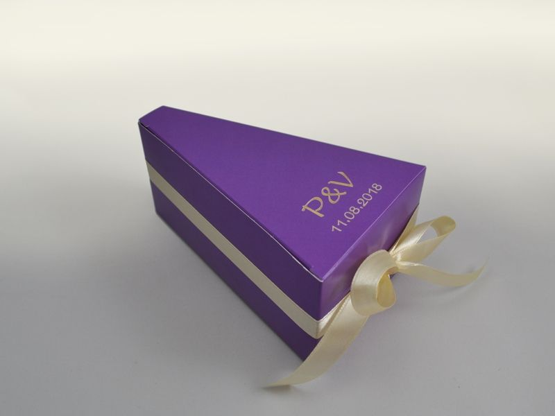 Krabičky na výslužky s Vaším textem