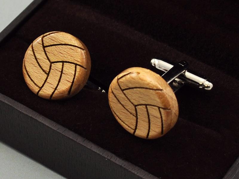 Manžetové knoflíčky - volleyball