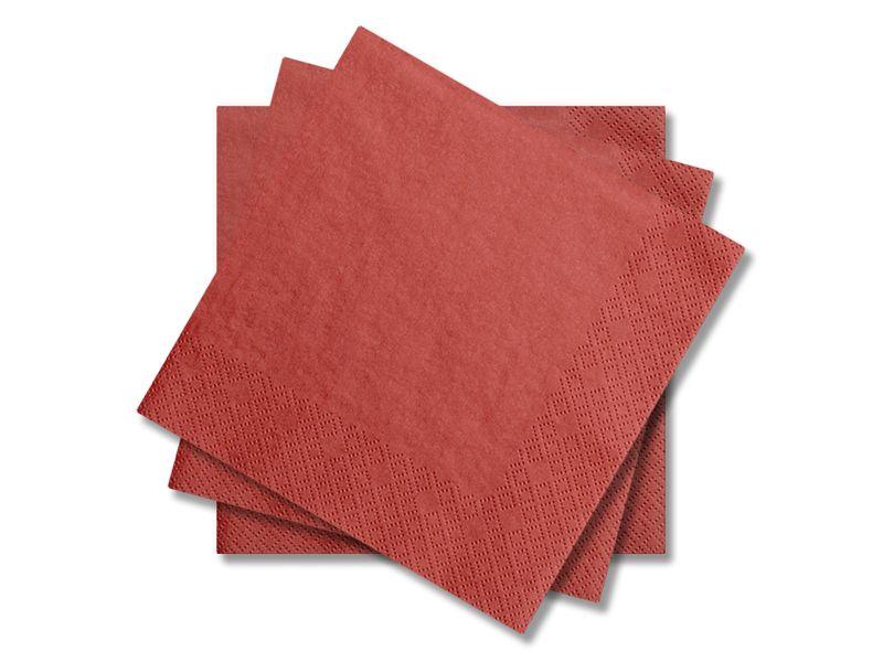 Svatební ubrousky Premium - červené