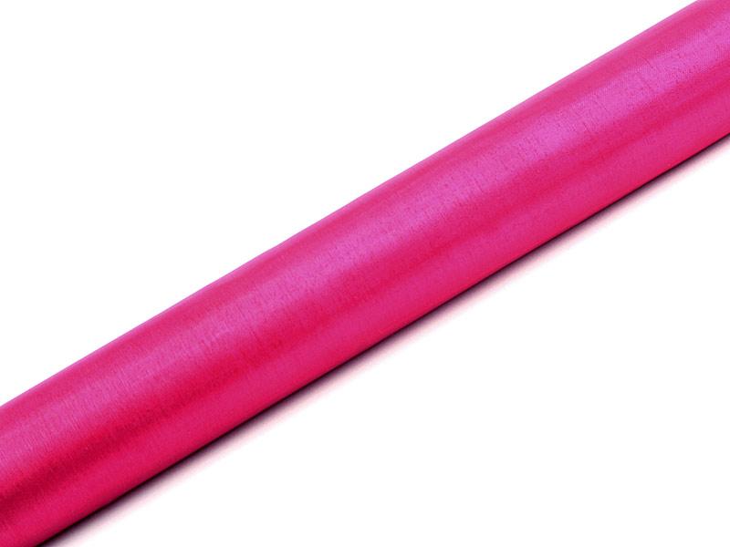 Organza Superior - tmavě růžová 36 cm x 9 m
