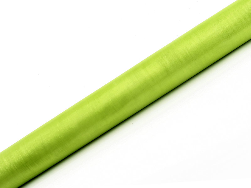 Organza Superior - zelená 36 cm x 9 m