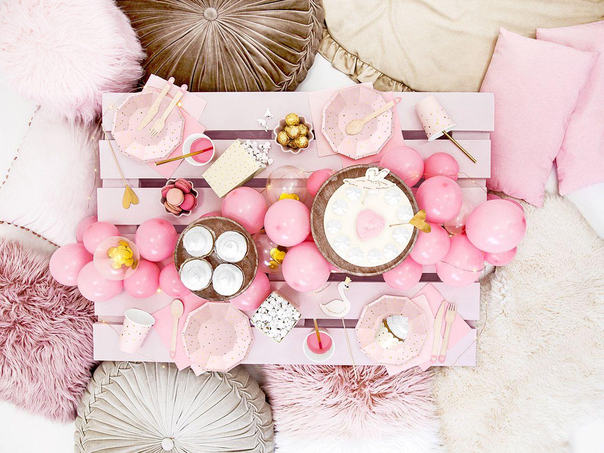 Svatební ubrousky Premium - světle růžové