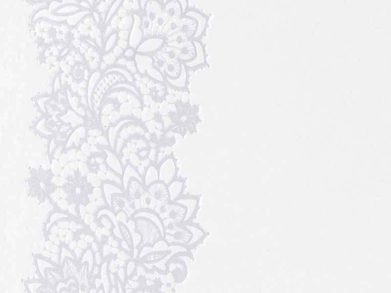 Svatební kniha hostů s ornamentem