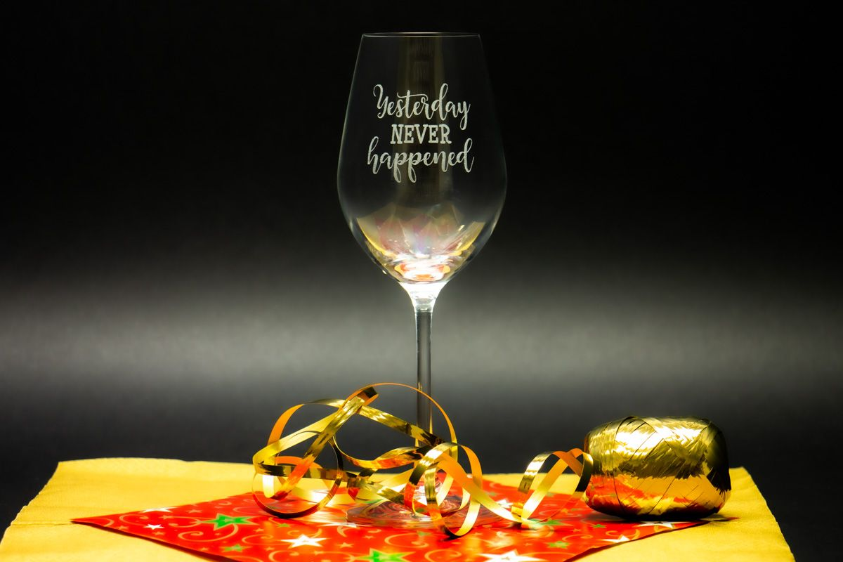 Svatební skleničky na víno se jmény - Viola