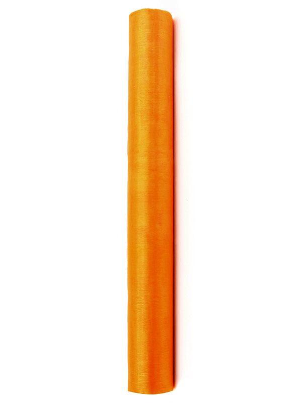 Organza Superior - oranžová 36 cm x 9 m