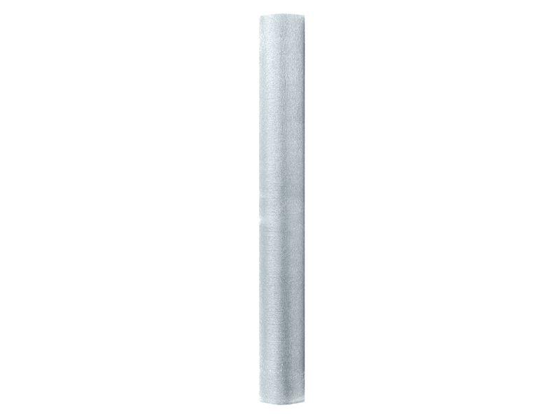 Organza třpytivá - stříbrná 36 cm x 9 m