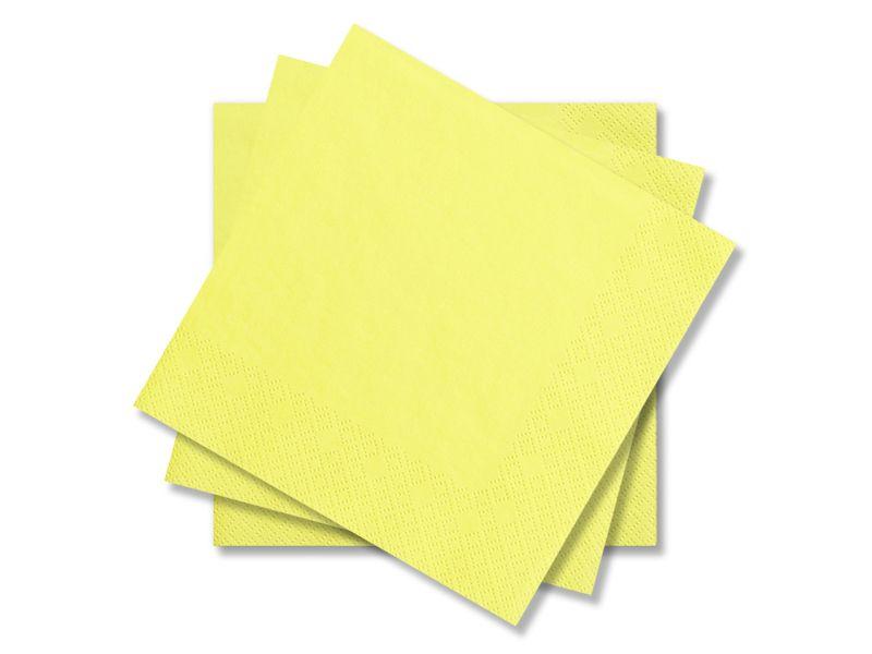 Svatební ubrousky Premium - žluté