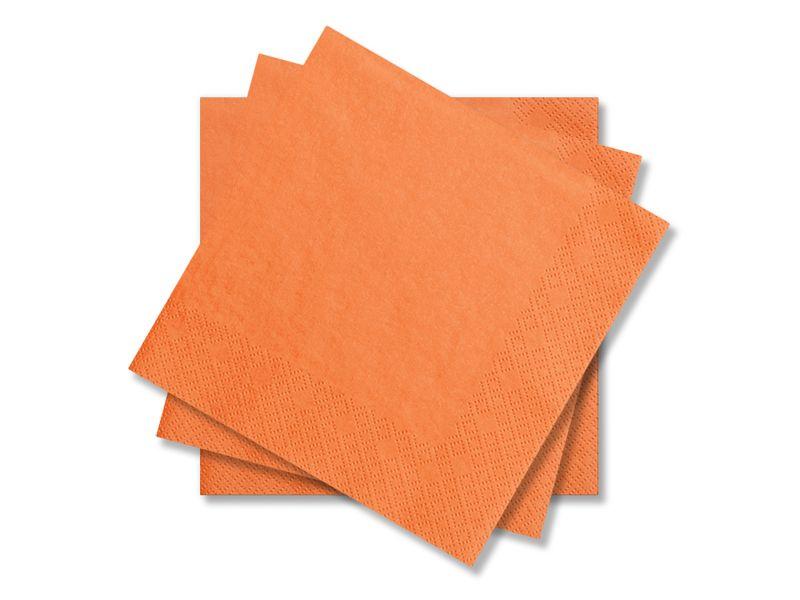 Svatební ubrousky Premium - oranžové
