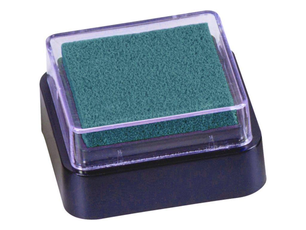 Razítkovací polštářek - petrolejová barva