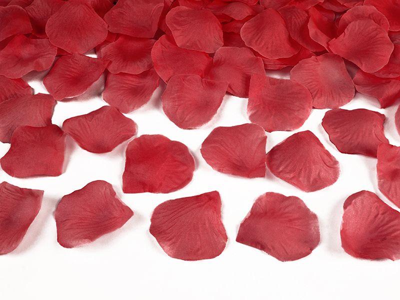 Okvětní lístky růže 500 ks - červené