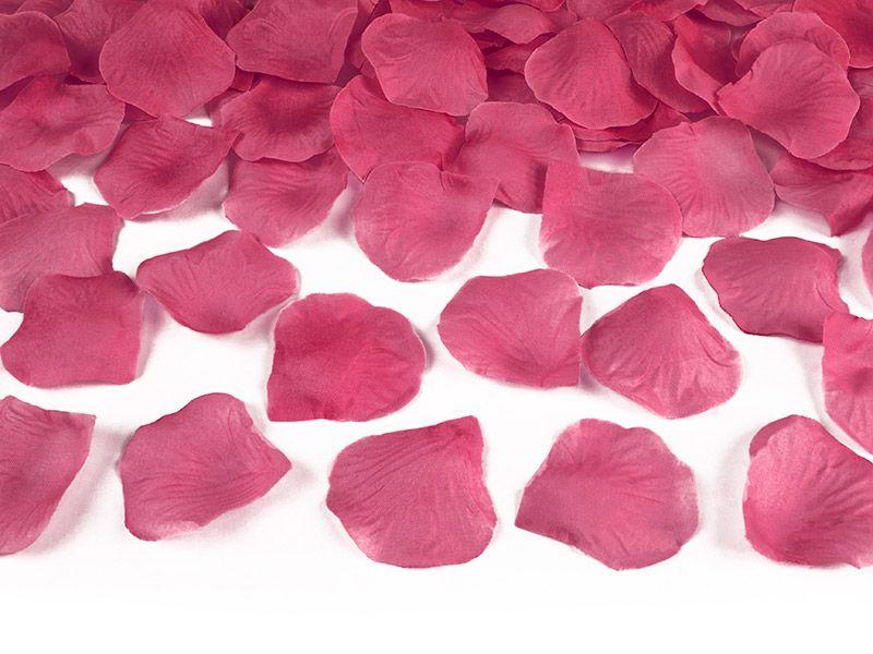 Okvětní lístky růže 500 ks - růžové