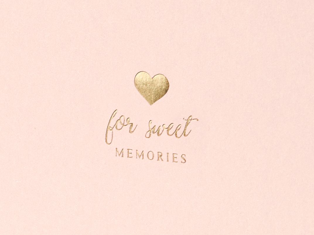 Kniha hostů - for sweet memories
