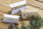 Ozdobné lepicí pásky - 5 stříbrných papírových washi pásek
